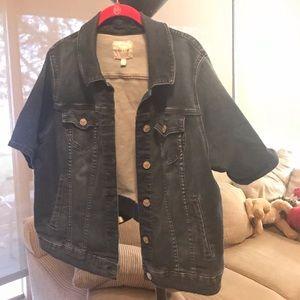 Torrid Short Sleeve Denim Stretch Jacket